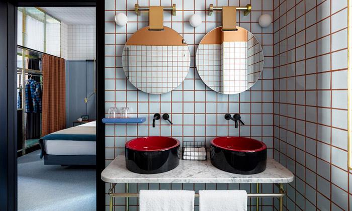 Urquiola spojila vhotelu Giulia moderní iretro design