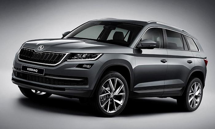 Škoda oficiálně představila první SUV jménem Kodiaq