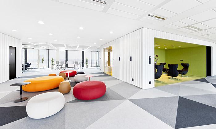 Vrtiška aŽák navrhli interiéry kanceláří Avast vPraze
