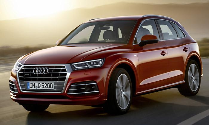 Audi Q5 dostalo plastické tvary aenergickou siluetu