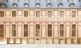 Dufour pavilon ve Versailles od dvojice Dominique Perrault a Gaëlle Lauriot-Prévost
