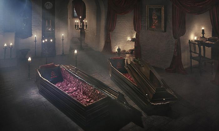 Hrad hraběte Drákuly nabízí halloweenské ubytování
