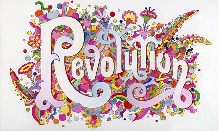 Londýn vystavuje revoluční design zlet 1966 až 1970