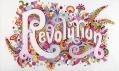 Ukázka zvýstavy ou Say You Want aRevolution? Records and Rebels 1966-1970