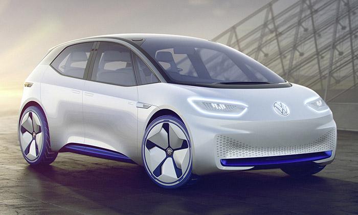 Volkswagen I.D. jeelektrické vozidlo budoucnosti