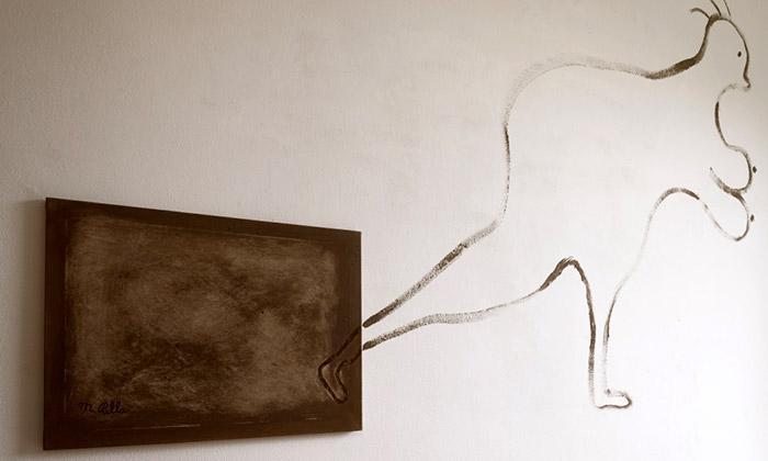 Bruno aMarian Palla vBrně vystavují Malbu hlínou
