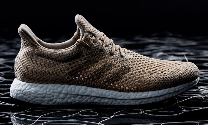 Adidas vyrobil zbiovlákna boty Futurecraft Biofabric