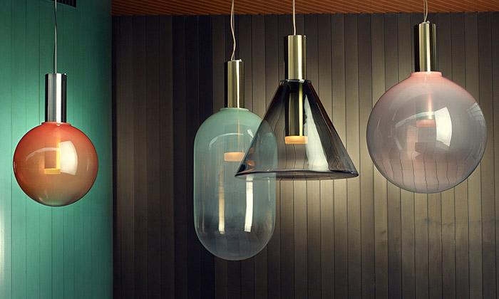BOMMA uvádí čtyři nové kolekce skleněných svítidel