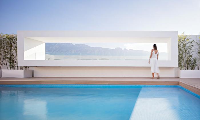 Domus Aurea jerezidence plná minimalismu asvětla