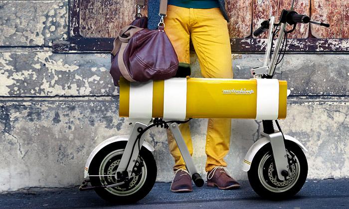 Motochimp jemalá elektrická motorka doměsta