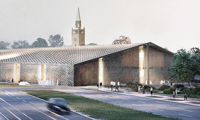 Herzog & de Meuron postaví Berlínu muzeum zcihel