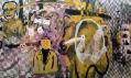 Ukázka ze site-specific umělecké přehlídky mladého umění Pokoje V.
