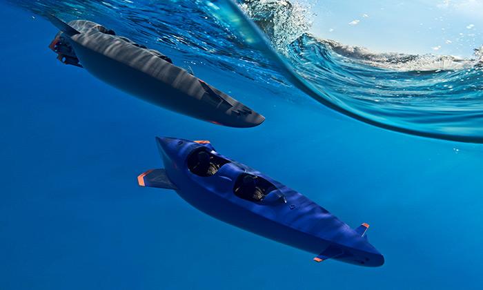 Ortega navrhla osobní dvou atřímístnou ponorku