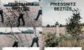 Vizuál k novému albu Beztíže skupiny Priessnitz od studia Laboratoř