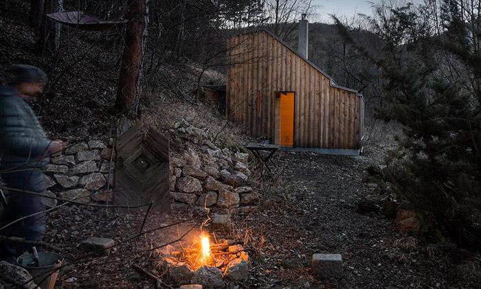 Tomova rekreační chata vlese získává prestižní ceny