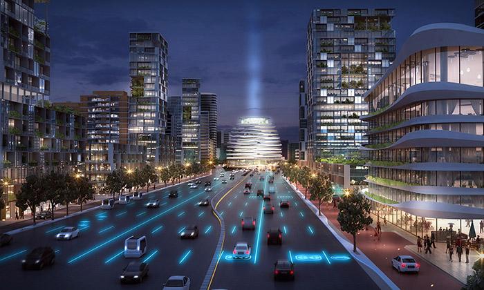 UNStudio navrhlo velkou proměnu okolí Amsterdamu