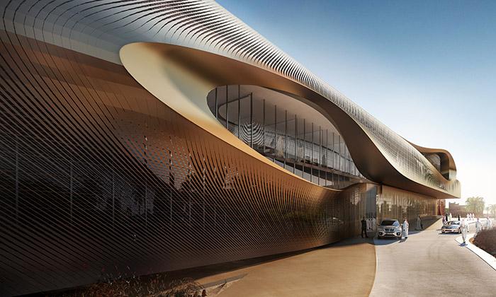 Saúdská Arábie staví kulturní centrum odZahy Hadid