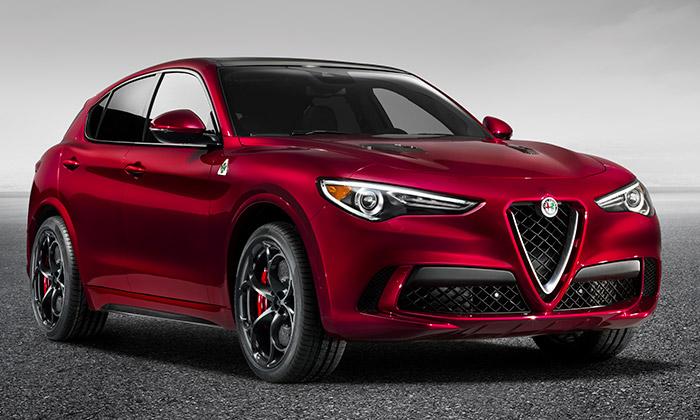 Stelvio jeprvní sportovně-užitkový vůz Alfa Romeo