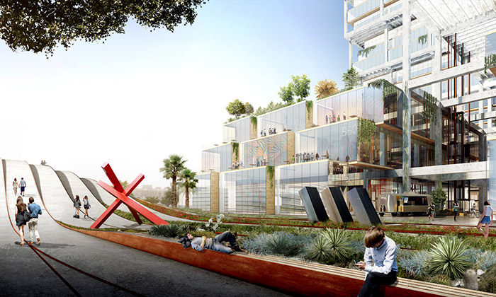 BIG postaví vLos Angeles industriální Art District