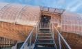Vzducholoď Gulliver v pražském centru DOX