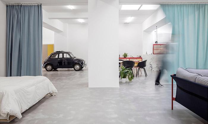 Pár si přestavěl lisabonskou garáž namoderní byt