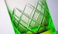 Sklenice na koktejly Gem od Jakobsen Design z uranového skla