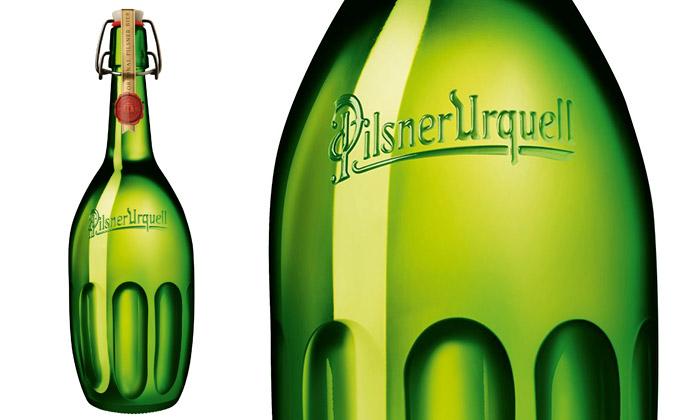 Rony Plesl navrhl litrovou láhev pro Pilsner Urquell