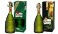 Limitovaná litrová láhev na pivo Pilsner Urquell v roce 2014 a 2013