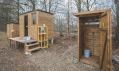 Venkovní sauna a kulturní osvěžovna NUUK u Labe v Hradci Králové