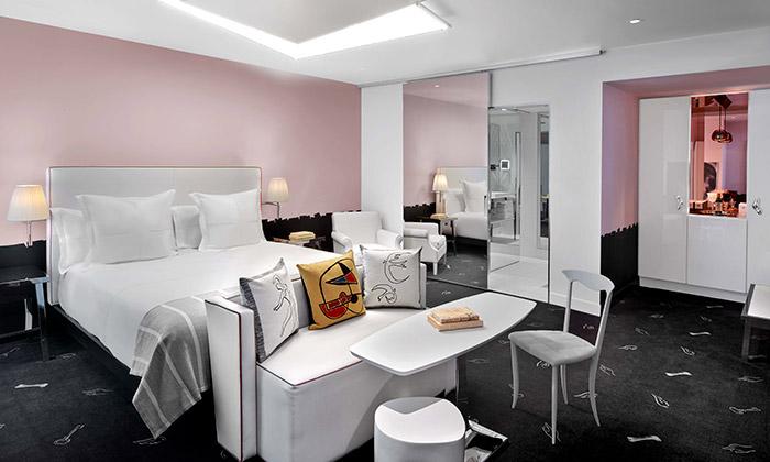 Starck navrhl interiér hotelu arezidencí SLSBrickell