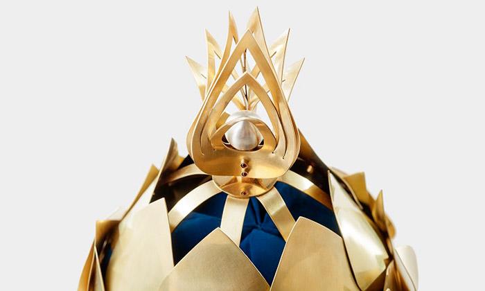 Viktorie Beldová navrhla korunu kambodžskému králi