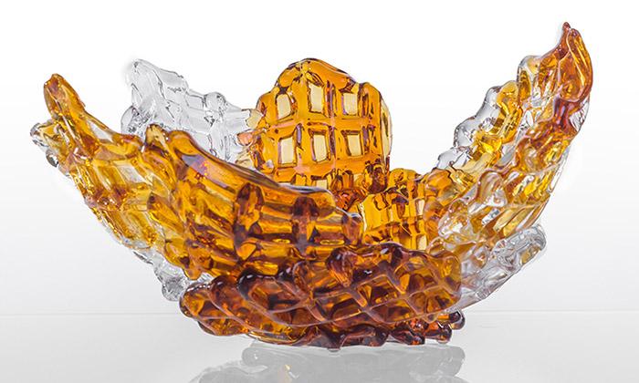 Ukázka z výstavy Glass Brothers: Filip & Lukáš Houdek