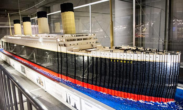 V Praze seotevřela největší výstava Lego vEvropě