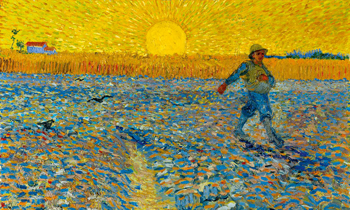 Vídeň vystavuje velké pointilisty idíla Van Gogha