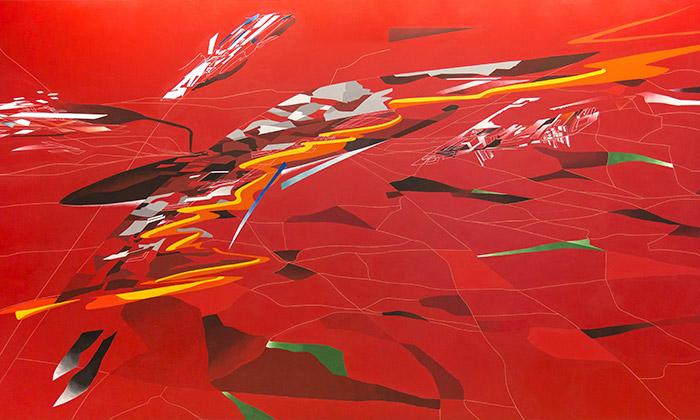 Londýn vystavuje malby akresby odZahy Hadid