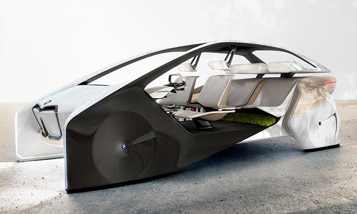 BMW iInside Future jeslibná vize autonomního vozu