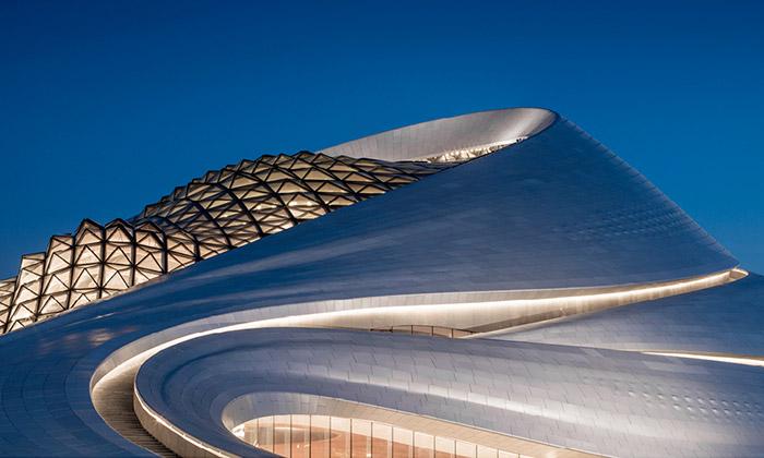 Harbin má organicky tvarovaný operní dům odMAD