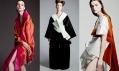 Módní kolekce Japonsko klidná síla odstudentů Ateliéru designu oděvu aobuvi UMPRUM