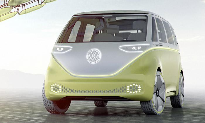 Volkswagen ukázal elektrický mikrobus I.D. Buzz