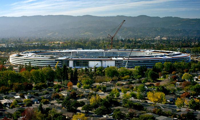 Noví sídlo společnosti Apple nazvané Apple Park
