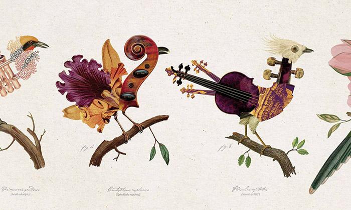 Pražské jaro má vizuální styl plný zpěvných ptáků