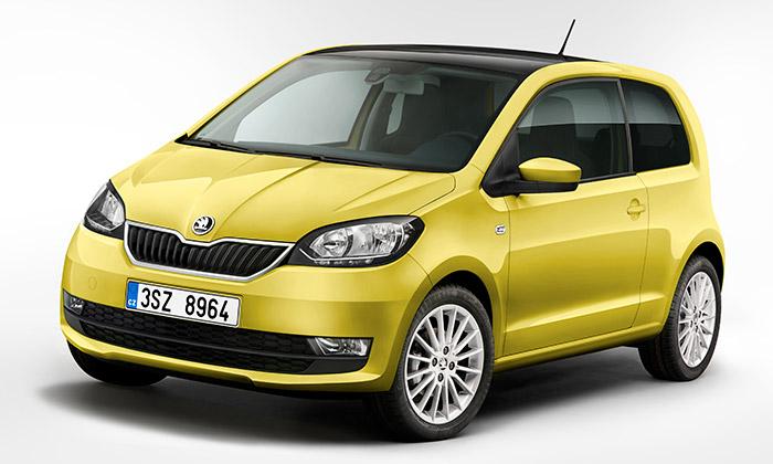 Škoda zmodernizovala design malého vozu Citigo