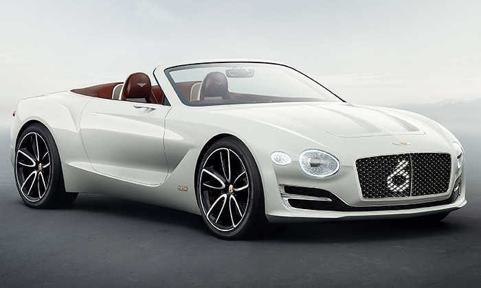 Bentley ukázalo elektrický roadster EXP 12 Speed 6e