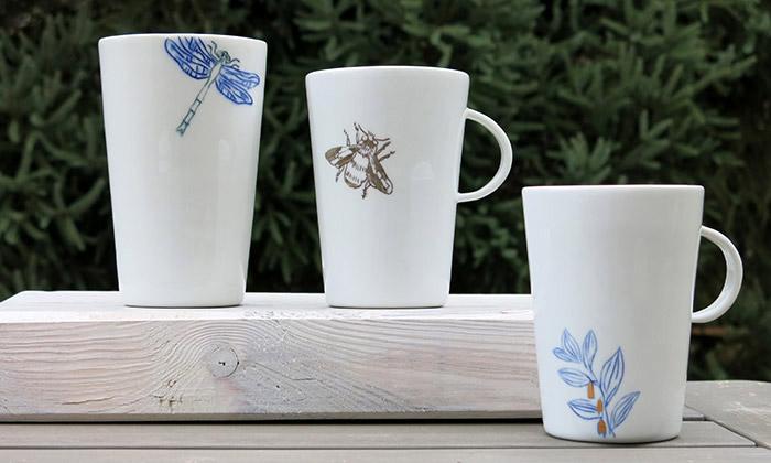 BLAHO uvádí kolekci porcelánu sčeskou přírodou