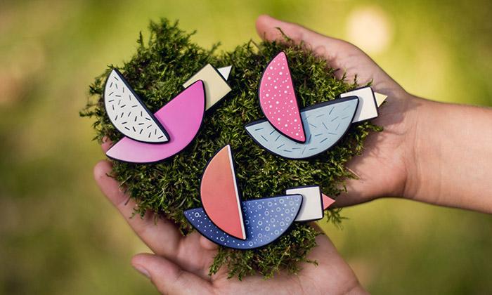 Lucy Štruncová vyrábí šperky zpolymerové hmoty