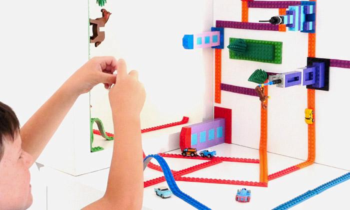 Páska Nimuno Loops umožní stavět zLega kdekoliv