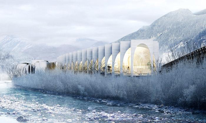 BIG postaví vItálii kampus pro vodu San Pellegrino