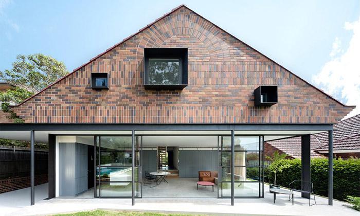 Poválečný dům vSydney přestavěn nakrásné bydlení