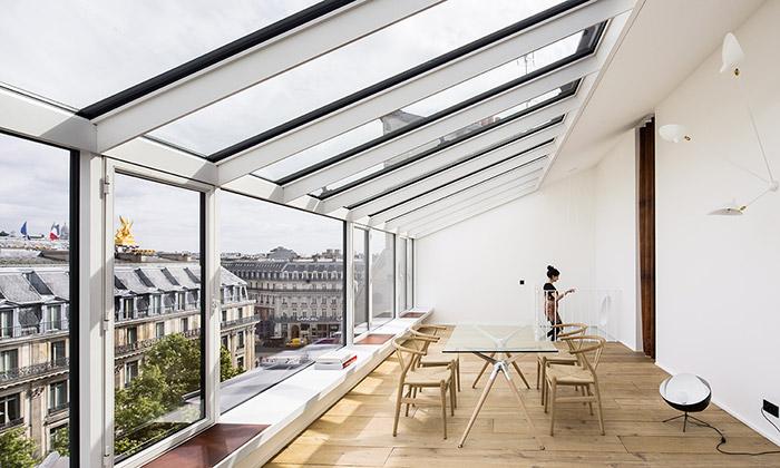 Fotografický ateliér vPaříži přestavěn nadva byty