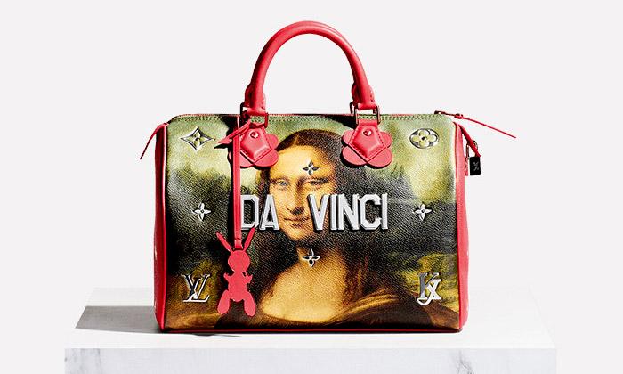 Kolekce tašek a kabebelek Masters od Louis Vuitton a Jeff Koons